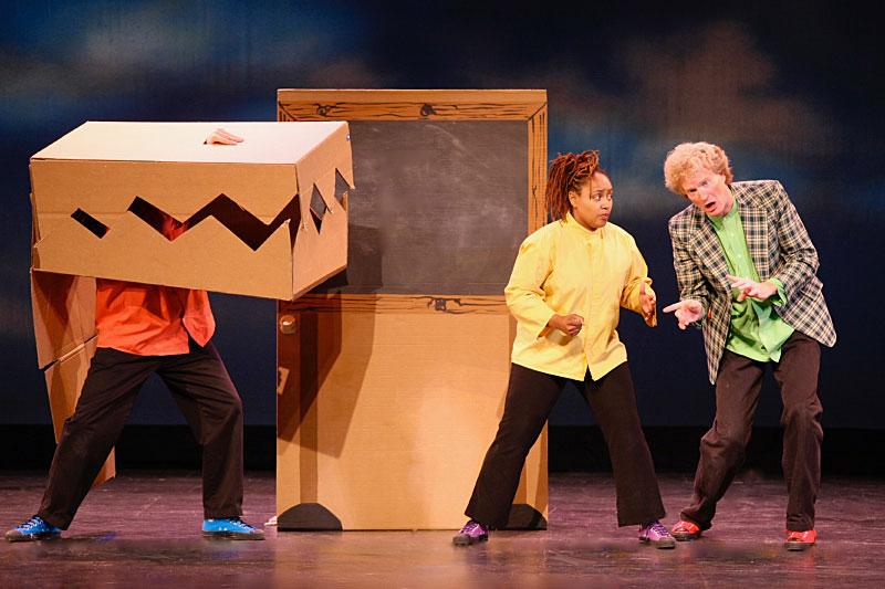 The Paper Bag Players - Alligator! Alligator!